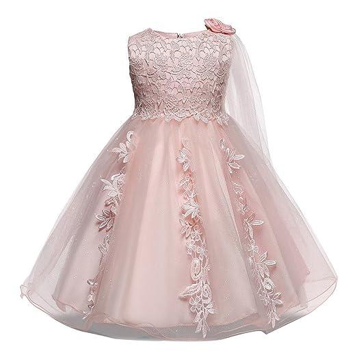 a43fbc78f657 Amazon.com  Euone for 0-18 Months Girl Princess Dress Pageant Flower ...
