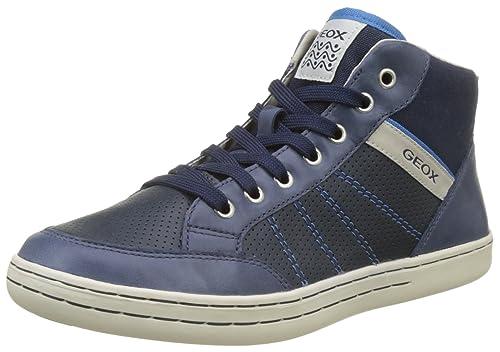 Geox Jr Garcia B, Zapatillas Altas para Niños: Amazon.es: Zapatos y complementos