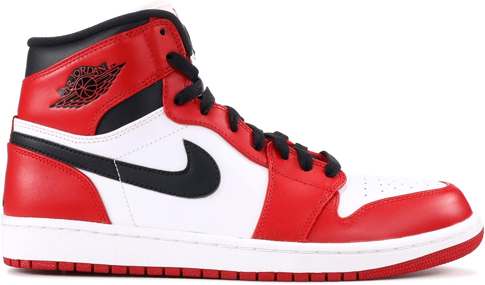 Amazon.com: Air Jordan 1 Retro (OG), color blanco/varsity ...