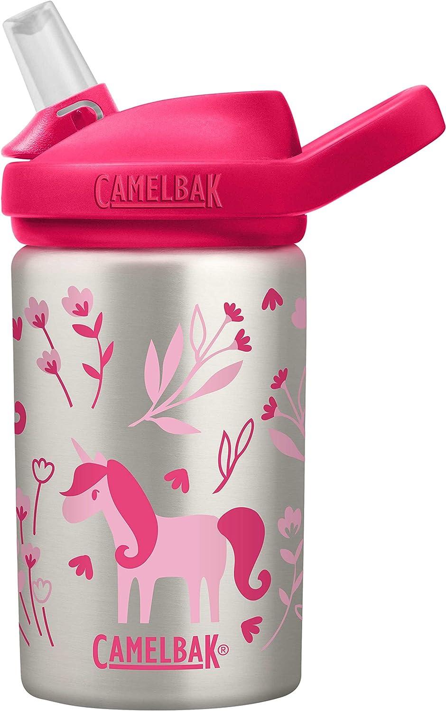 CamelBak Eddy+ Kids 14 oz Bottle, Stainless Steel
