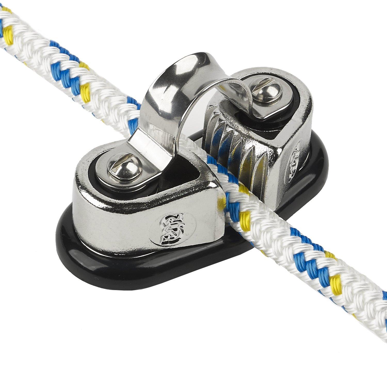 Schaefer Sure Grip Edelstahl Cam Keil passend für bis zu 7 16 Zoll Line, 11 mm