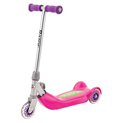 Razor Jr. Folding Kiddie Kick Scooter - Pink: Sports & Outdoors
