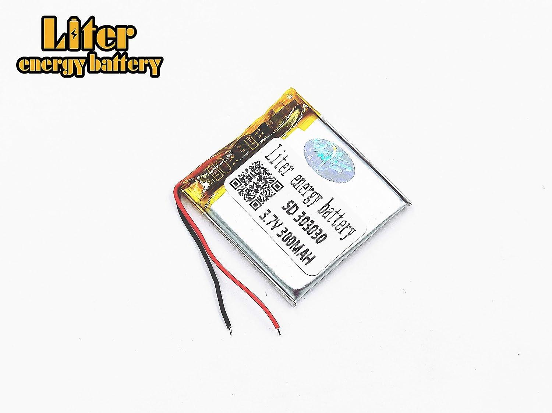 Amazon com: 3 7V 300mAh 303030 Lithium Polymer Ion