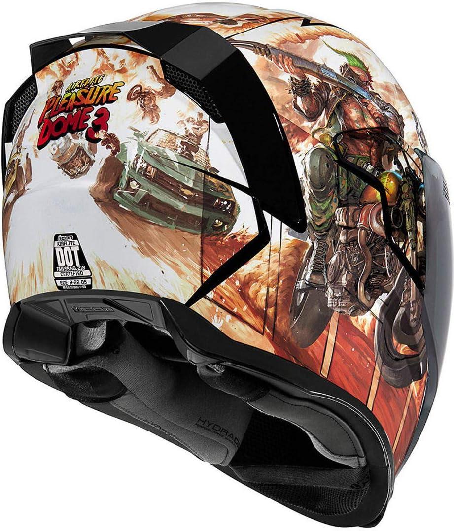 ICON Motorcycle Airflite Helmet Pleasuredome 3 Model 2020