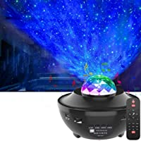 LED Star Projector Lights, Led Sterlicht Projector Oceaangolf Sterrenhemel Nachtlichten Lamp Projector Cadeaus voor…