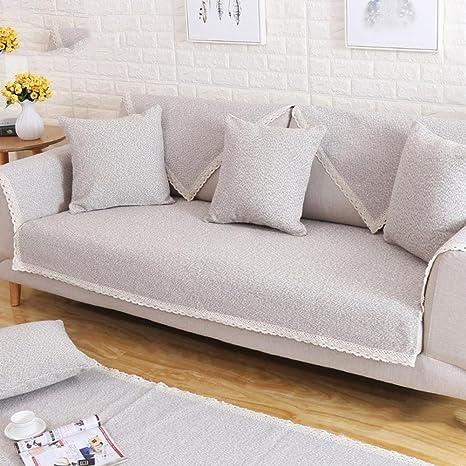 Z&HX-Toalla/Lino del sofá, Cuatro Estaciones, Antideslizante ...