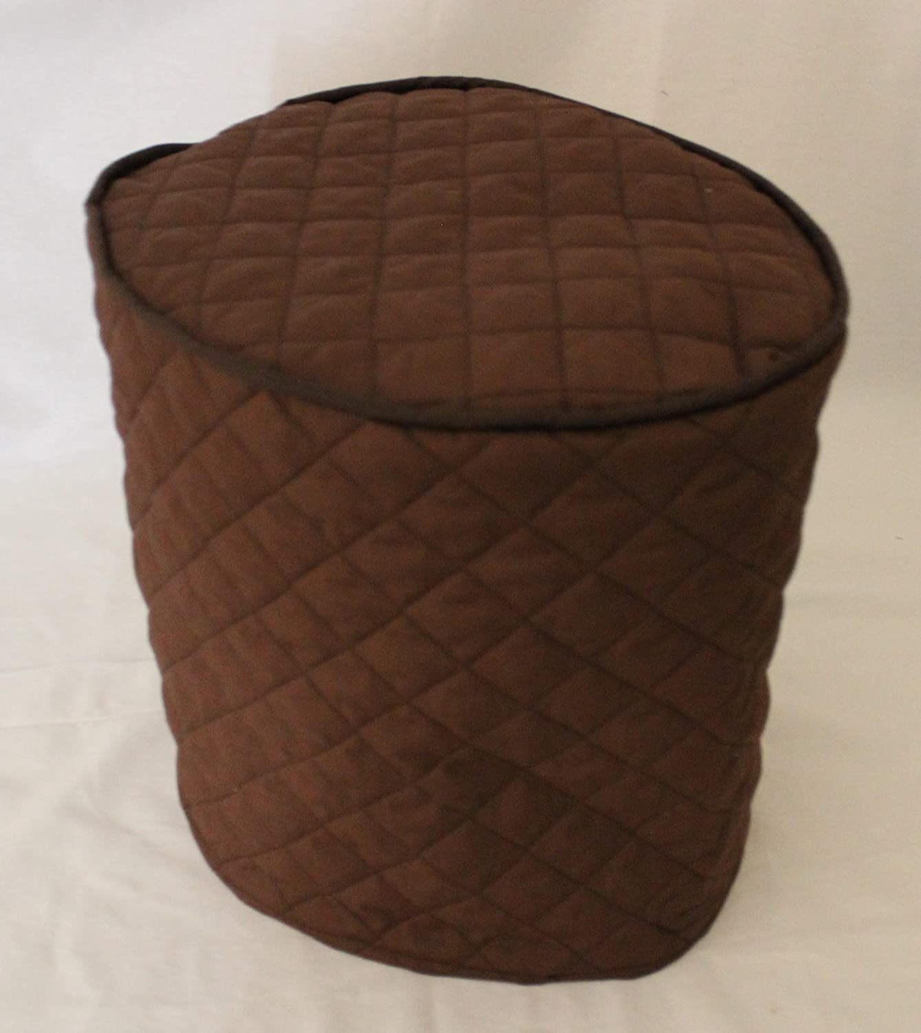Simple Home Inspirations Quilted Cover Compatible with Instant Pot Pressure Cookers (6Qt, Brown)