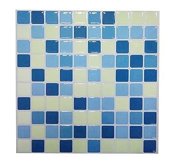 Piastrelle adesive, in 3D, gel effetto mosaico, autoadesivo ...