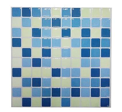 Tile U0026 Adesivi In Gel, Effetto Mosaico, 3D Self Adhesive Splashback  Piastrelle