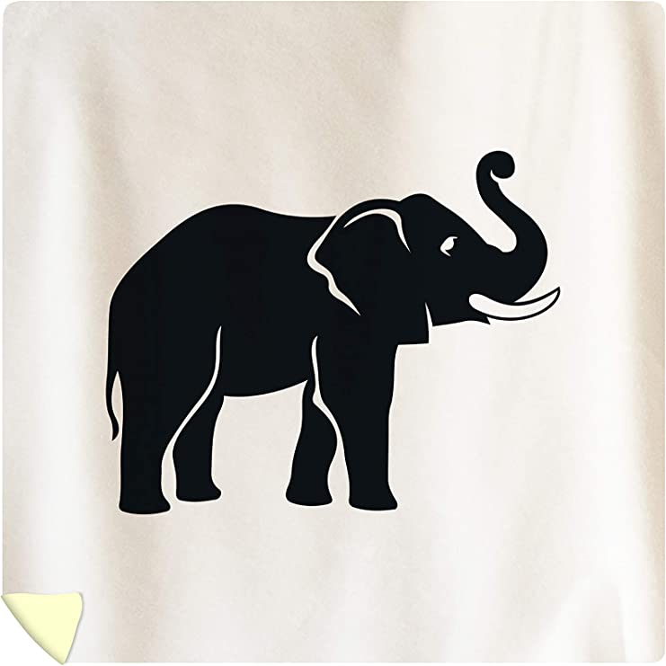 amazon com lantern press elephant icon silhouette in grey 9018135 88x88 queen microfiber duvet cover posters prints lantern press elephant icon silhouette in grey 9018135 88x88 queen microfiber duvet cover