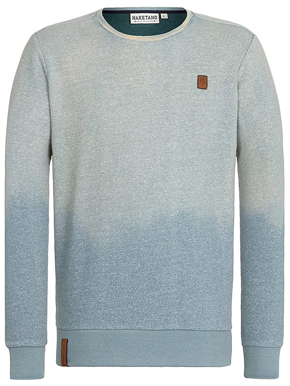 Naketano Herren Sweater Tadellos Abgespritzt Sweater