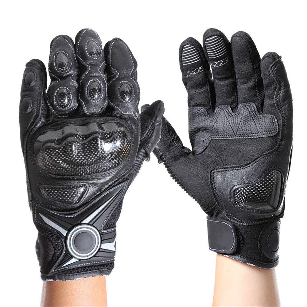 LBYMYB Cycling All-Touch Screen Warm Anti-Collision Verschleißfeste Offroad-Fahrradhandschuhe, Schwarz Handschuh (Farbe   XL)