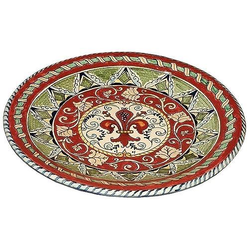 Italian Decorative Plates For Hanging.Amazon Com Ceramiche D Arte Parrini Italian Ceramic Art