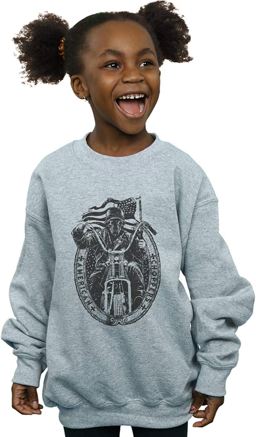 ABSOLUTECULT Drewbacca Girls American Choppers Sweatshirt