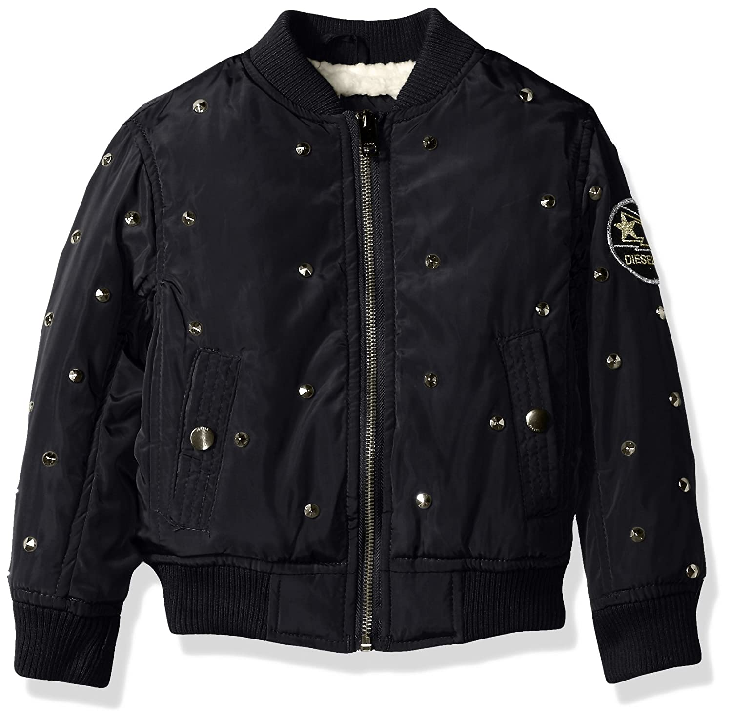 Girls Outerwear Jacket More Styles Available Diesel Children/'s Apparel
