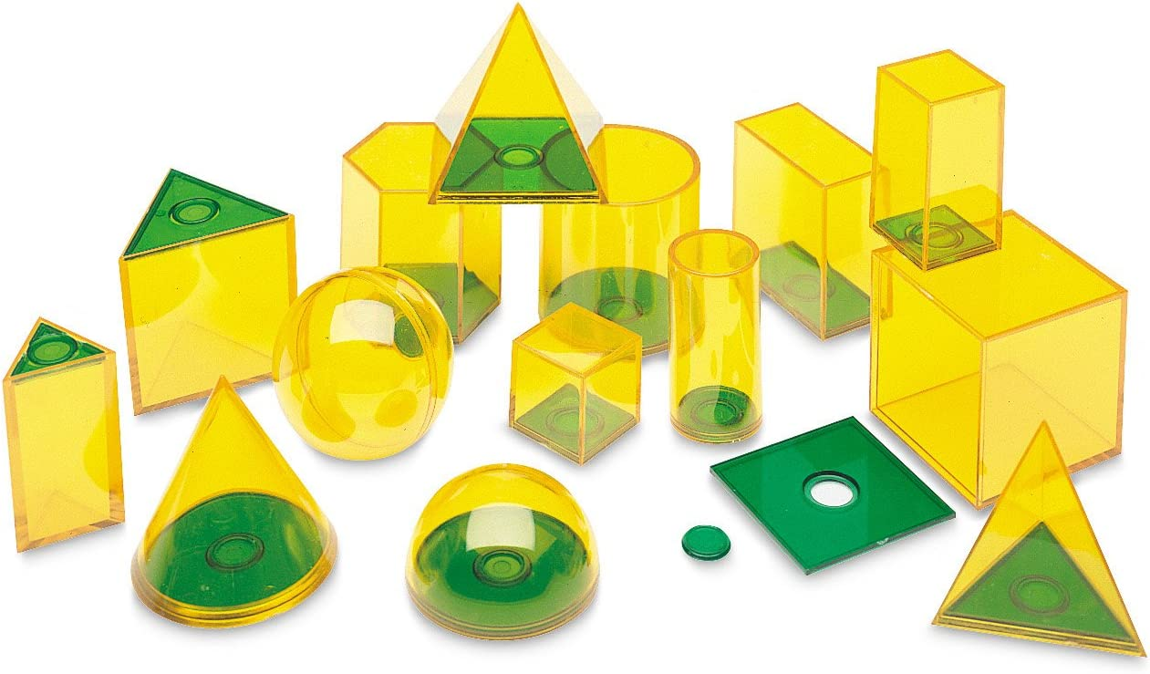 geomteric solids geomtery manipulatives