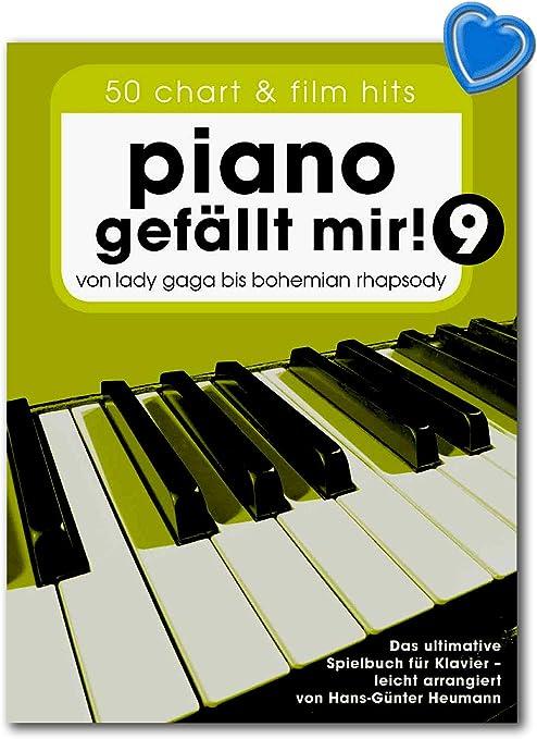 Piano gefällt mir 9 : 50 Chart und Film Hits - Von Lady Gaga bis ...