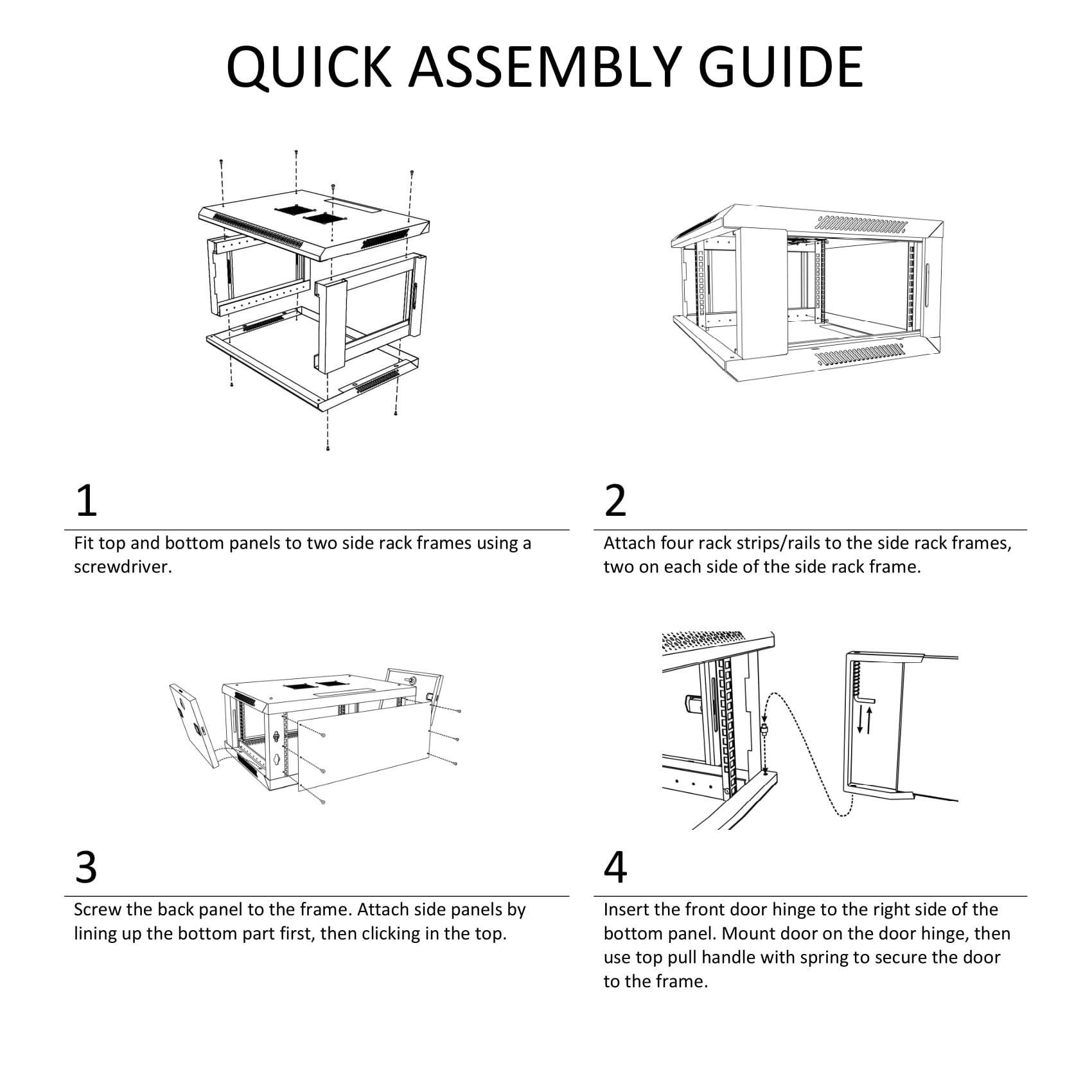 Server Rack Cabinet - 4U 19