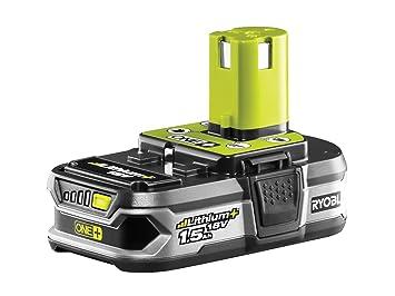 Ryobi RB18L15 batería recargable Ión de litio 1500 mAh 18 V - Batería/Pila recargable (1500 mAh, Ión de litio, 18 V, Gris): Amazon.es: Bricolaje y ...