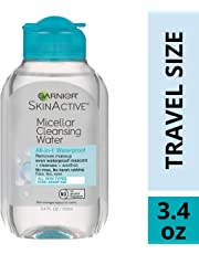 Garnier SkinActive Micellar Cleansing Water All-in-1 Cleanser & Waterproof Makeup Remover, 3.4 Fluid Ounce