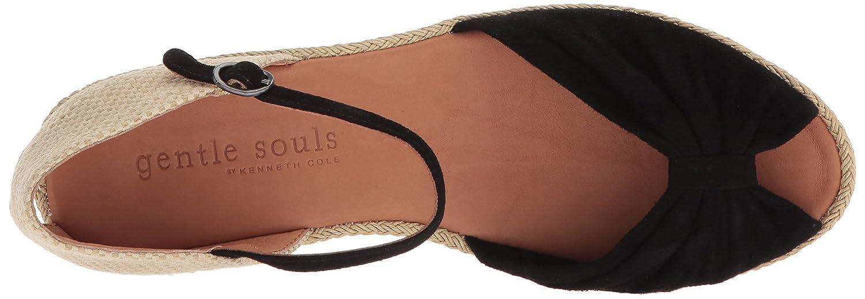 fce76cb0d6f Gentle Souls Women's Lucille Low Wedge Espadrille Sandal