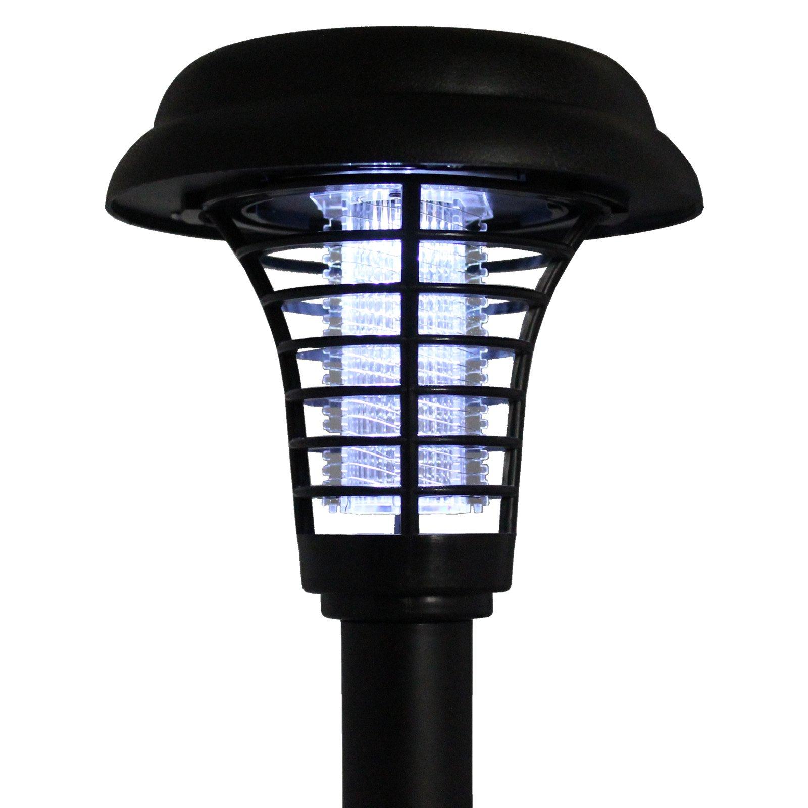 Bluedot Trading LED Solar Pathway Lights & Uv Light Bug Zapper in One (Set of 8)