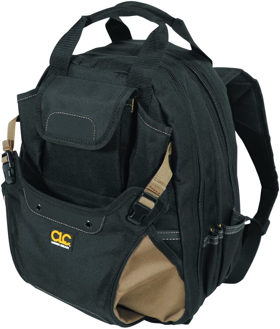 CLC Custom Leathercraft Carpenter's Tool Backpack}
