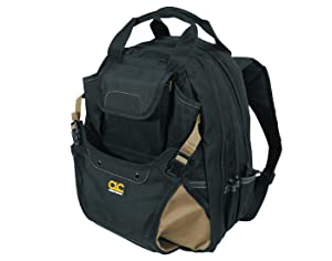 1. CLC Custom Leathercraft 1134 Carpenter's Tool Backpack