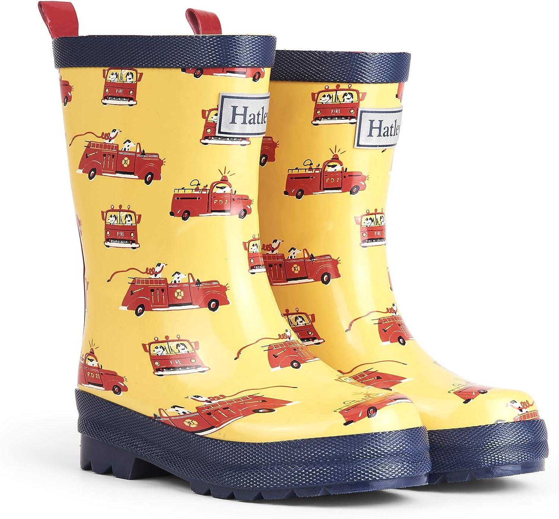 Hatley Boys' Printed Rain Boots