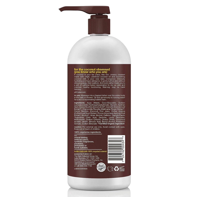 Alba Botanica Very Emollient Sparkling Mint Bath & Shower Gel, 32 oz. : Kids Body Wash : Beauty