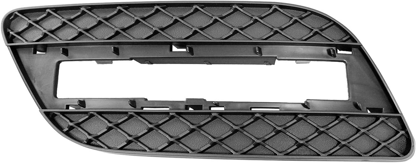 2015-2015 Mercedes Ml250 Front Driver Side Lower Bumper Cover Grille; With Amg; For Use With Daytime Running Lamps; Black; Made Of Abs Plastic Partslink MB1038140