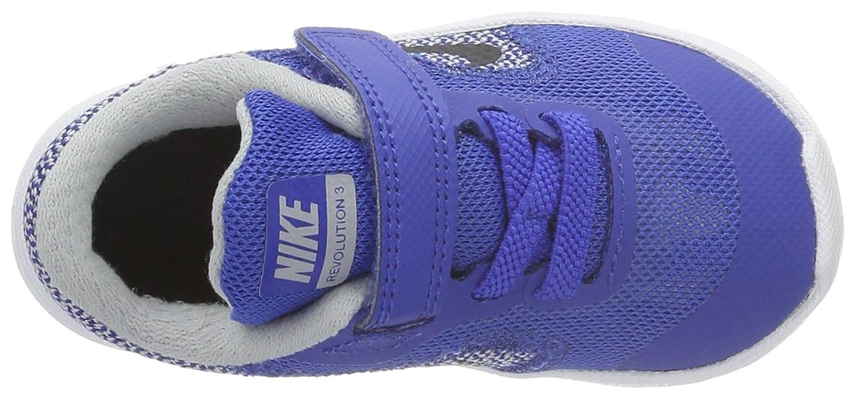 Nike 819415 402, Zapatos de Recién Nacido Bebé Unisex, Azul (Game Royal/Black WLF Gry White), 19.5 EU