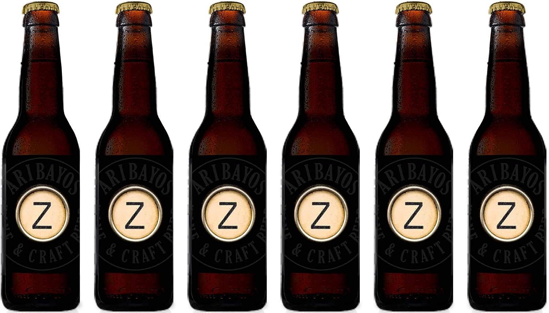 Cerveza Z-Abadía - Caja de 6 botellas de 33 cl. Cerveza Artesana Doble Belga: Amazon.es: Alimentación y bebidas