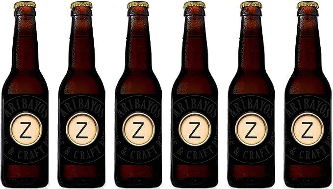 Cerveza Z-Abadía - Caja de 6 botellas de 33 cl. Cerveza Artesana ...