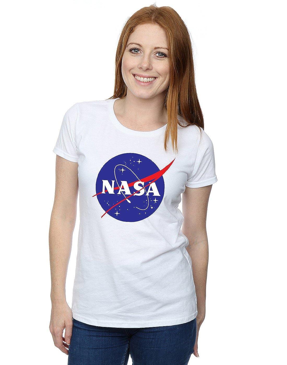Nasa Mujer Classic Insignia Logo Camiseta