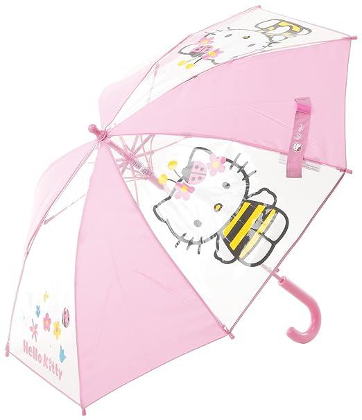 Clima CAR16102 - Juego de Plein Air - Paraguas Largo - Hello Kitty - abeille-rose oscuro: Amazon.es: Juguetes y juegos