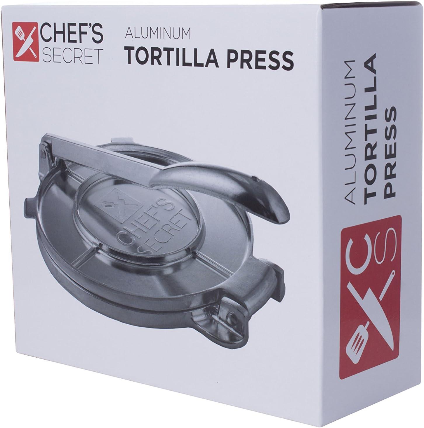 Presse /à tortilla de chef Secret 20,3/cm Aluminium