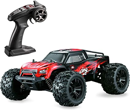Amazon Com Hosim 1 14 Scale 4wd 36 Kmh High Speed Rc Cars Large Size Remote Control Car Trucks 4x4 Off Road Vehicle Electric Monster Truck All Terrain Waterproof Toys Trucks Cars For