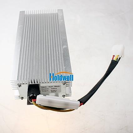 amazon com holdwell dc converter 60v to 24v 0a 30a 30amp step down rh amazon com