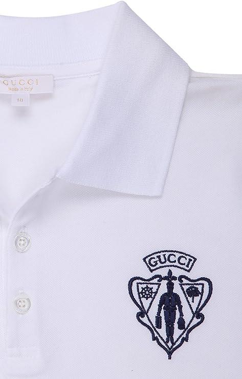 Gucci - Polo - para niña blanco 10 años: Amazon.es: Ropa y accesorios