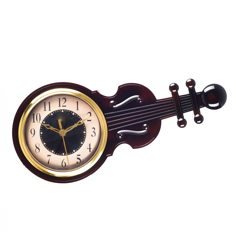 11b7953b5 Buy eCraftIndia Decorative Round Plastic Analog Wall Clock (39 cm x 3 cm x  19 cm