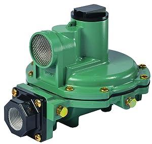 """Emerson-Fisher LP-Gas Equipment R622-DFF 2nd Stage Regulator, 9-13"""" W.C Spring, 3/4"""" x 3/4"""" NPT"""