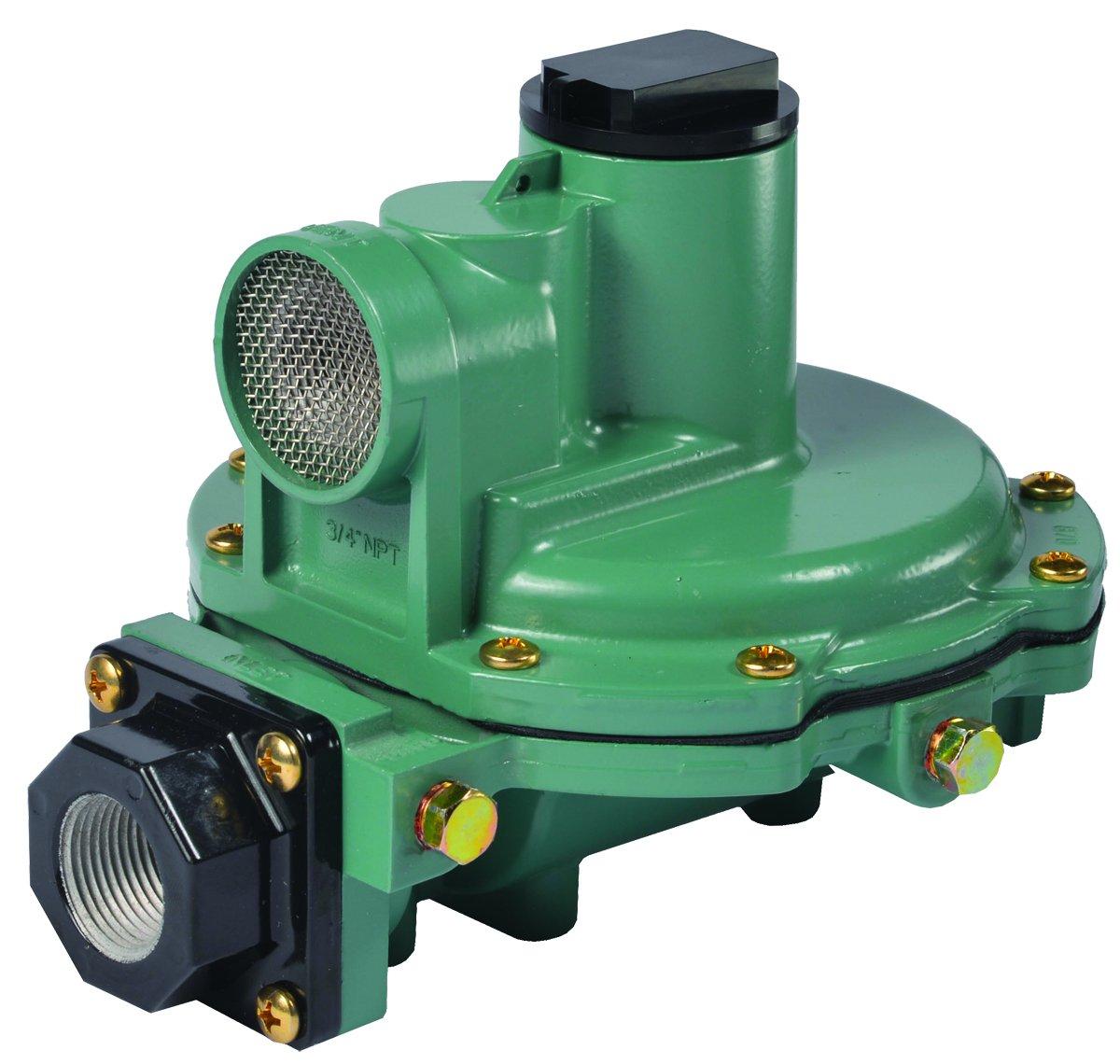 Emerson-Fisher LP-Gas Equipment R622-BCF 2nd Stage Regulator, 9-13'' W.C Spring, 1/2'' x 1/2'' NPT