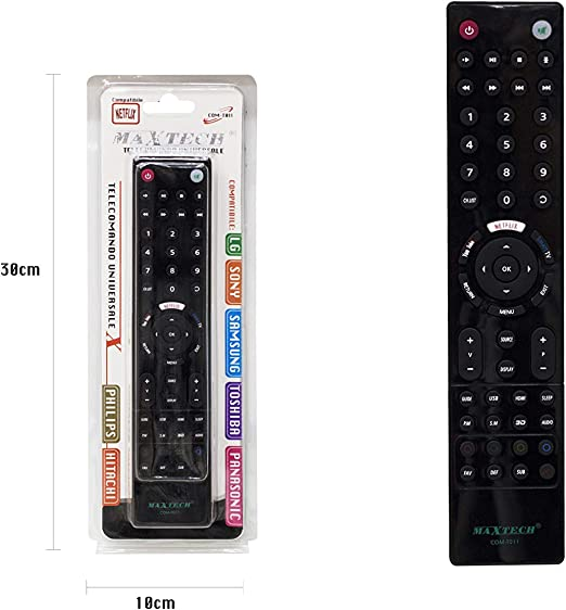 Mando a Distancia - Control Remoto Universal Compatible: Netflix You Tube Smart TV 3D: Amazon.es: Electrónica