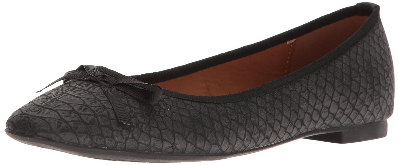 Callisto Women's Barnett Ballet Flat B01N4MF6GD 9.5 B(M) US|Black Croc