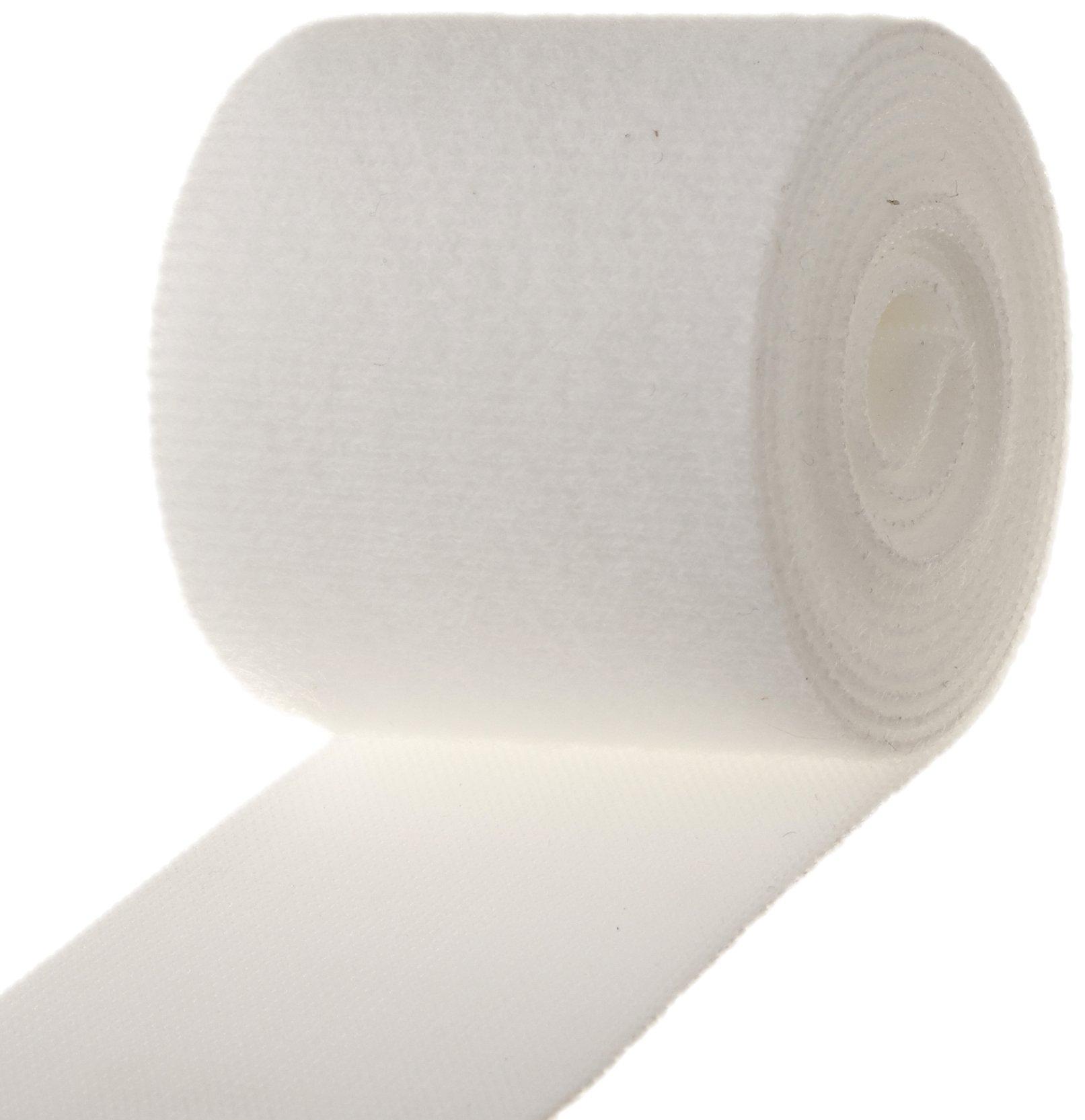 VELCRO White Nylon Velcro Onewrap Strap, Hook and Loop, 2'' Wide, 5' Length