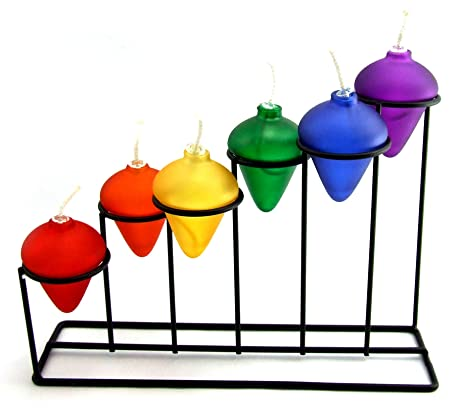 Rainbow Stair Oil Lamp Holder