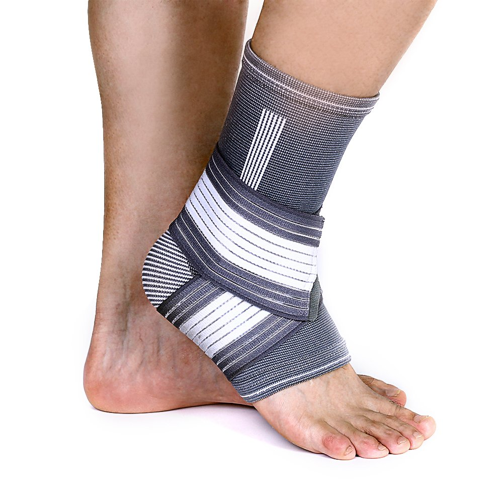 Ankle Support Lovely Ankle Foot Elastic Compression Wrap Sleeve Bandage Brace Support Protection Hot