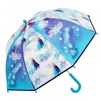 Disney Frozen - PVC Paraguas de los Niños Snowflake Anna & Elsa