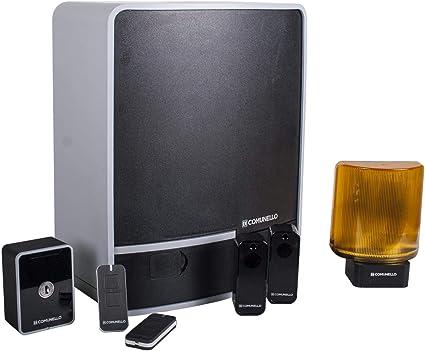 FORT KIT - Accionamiento eléctrico para puertas correderas (hasta 400 kg): Amazon.es: Bricolaje y herramientas